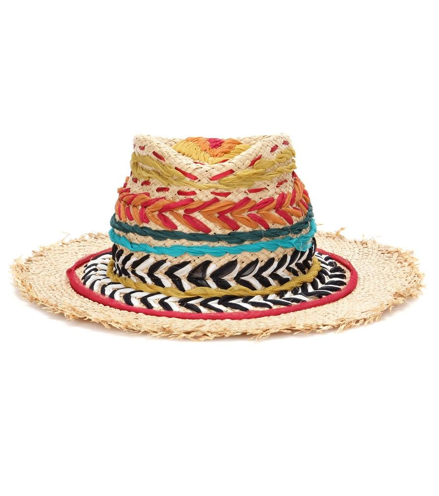 Etro  Embroidered Straw Hat  This Vibrant, Patterned Straw Hat From Etro  Channels The