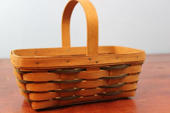 Collectible Longaberger 1990 Berry Picking by ABFarmHouseVintage