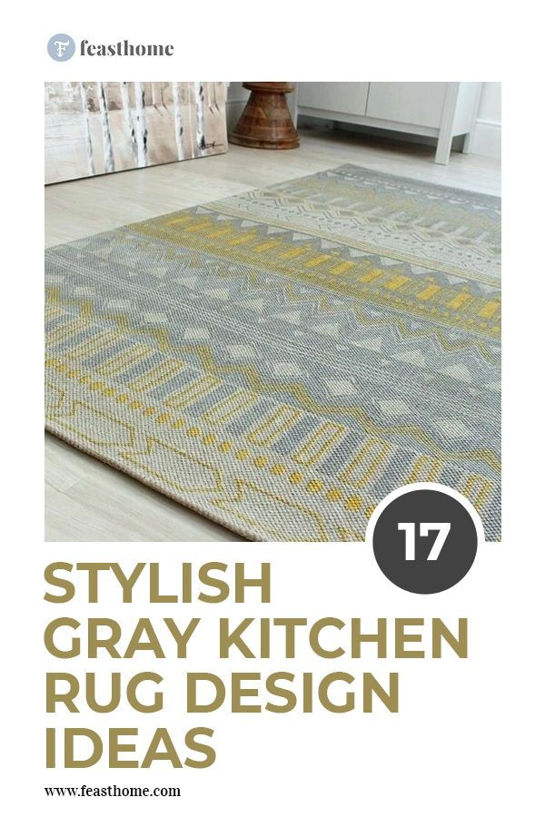 17 Stylish Gray Kitchen Rug Design Ideas Gray Kitchen Rugs Grey
