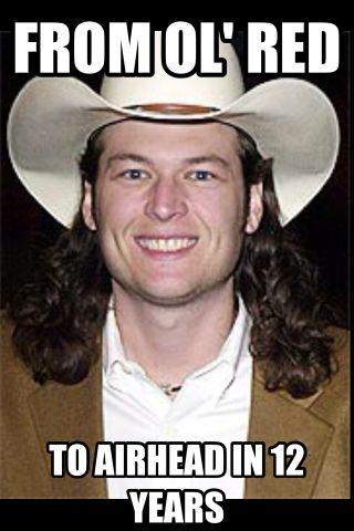 c2d735d0606c9c3009a4941ac2b186b2 farce the music blake shelton twitter war memes country music,Blake Meme
