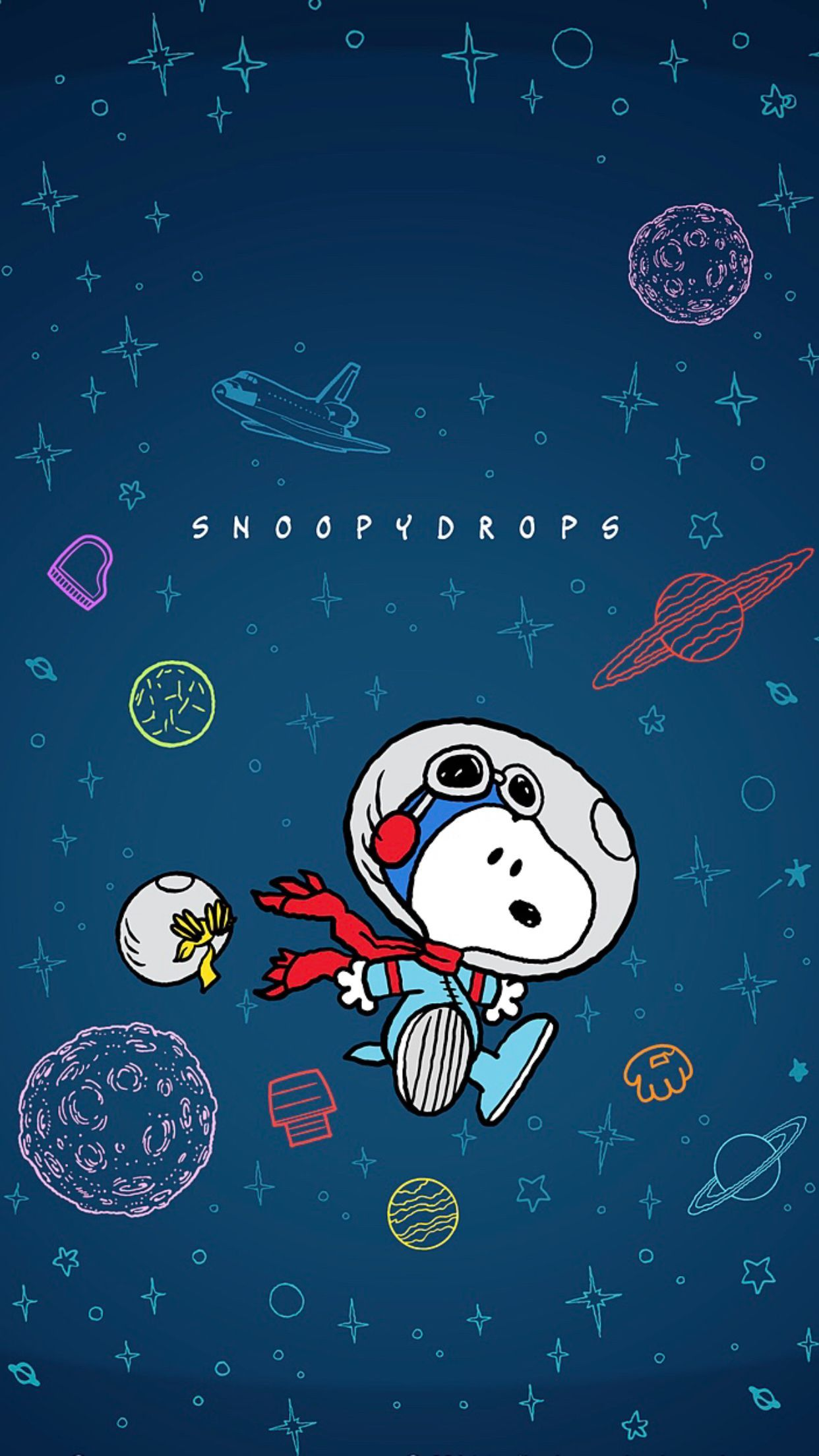 snoopy in space Google Search Snoopy wallpaper, Snoopy