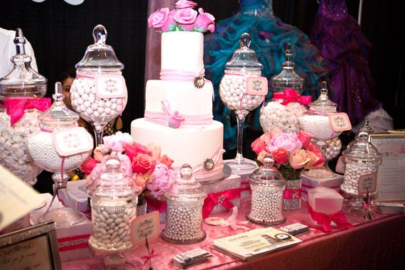 Centerpieces for your quinceanera party vintage candy