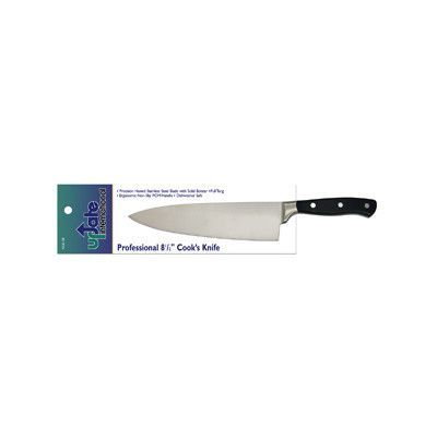 """Update International 8.5"""" Forged Steel Cooks Knife with POM Handle"""