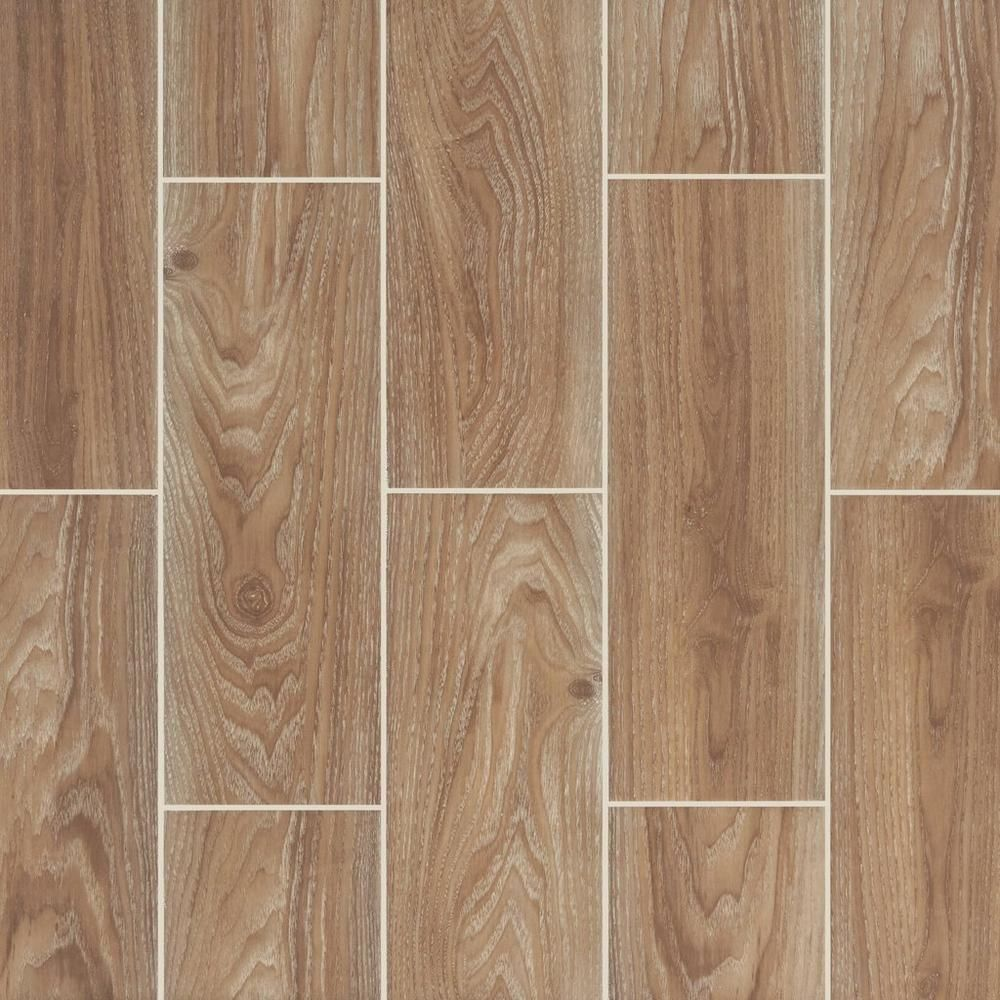 Cumberland Cafe Wood Plank Ceramic Tile 7in. x 20in