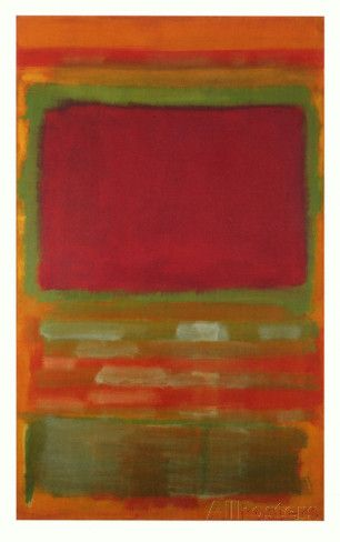 Untitled, #15 Collectable Print by Mark Rothko at AllPosters.com