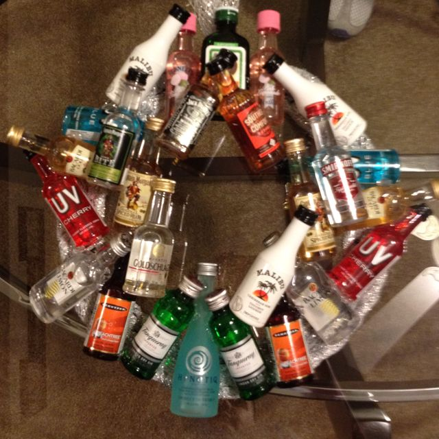 Wreath I Will Make For My Brothers 21st Birthday Yes Know Am The Best Sister Ever