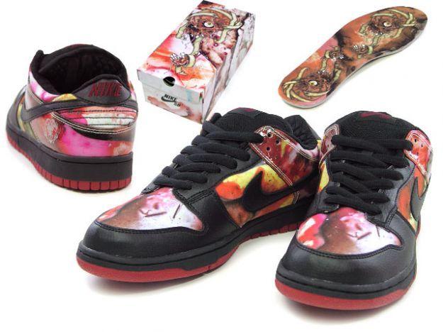 best sneakers 3de18 bb87a Pushead - Nike Dunk Low Pro SB