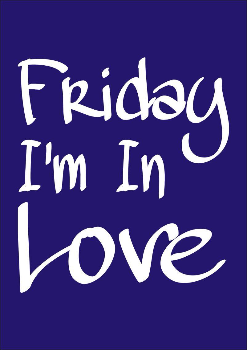It's nearly the weekend. #fridayfeeling