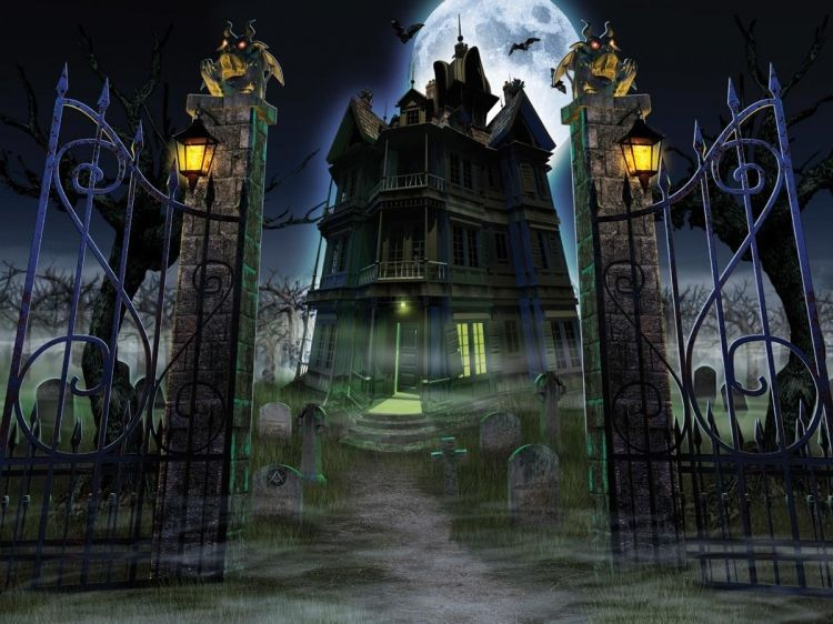 54 best images about HAUNTED HOUSES on Pinterest