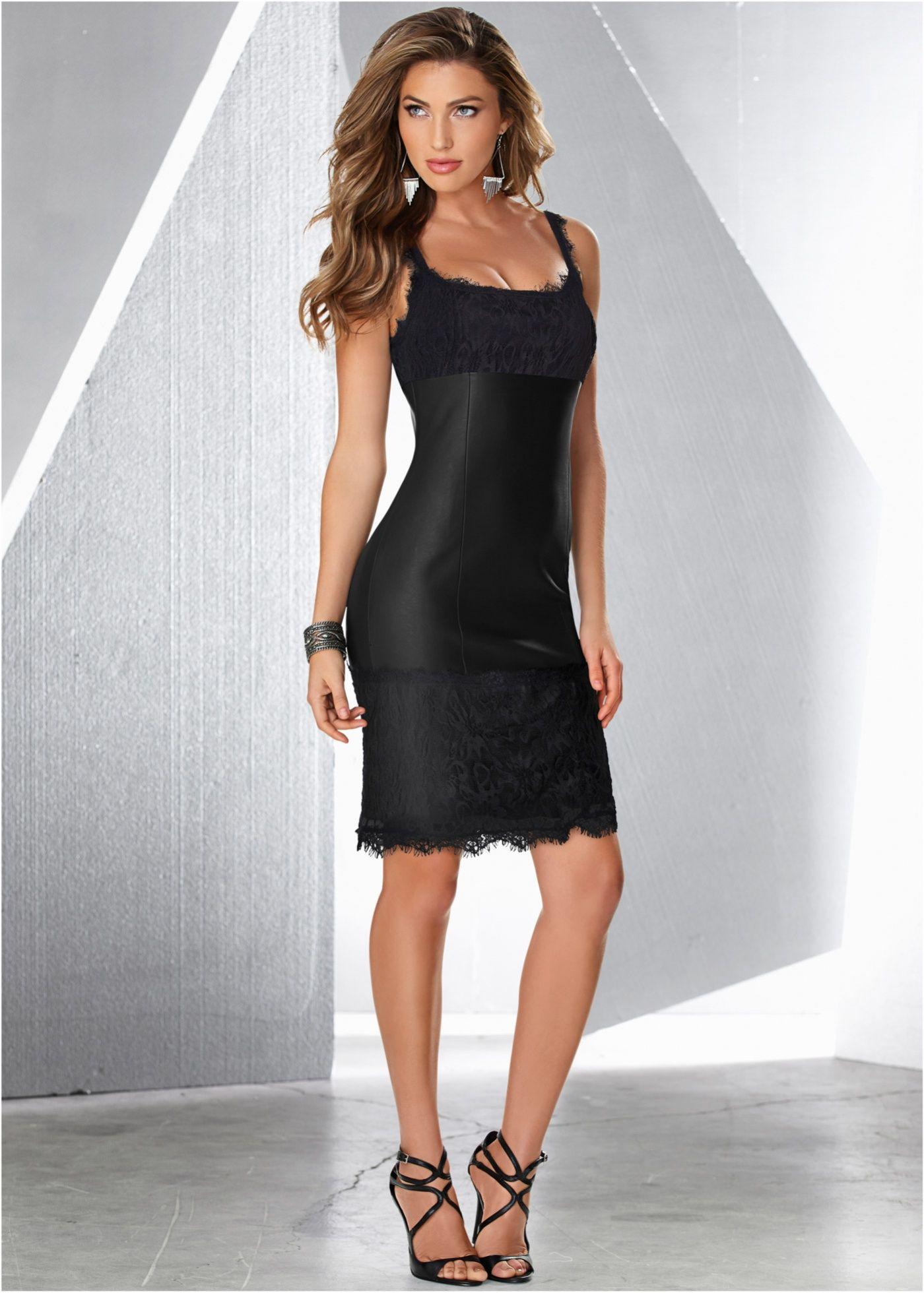 327763299 Vestido tubinho com renda preto encomendar agora na loja on-line bonprix.de  R  179