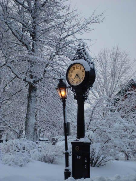 Wintertime in Bar Harbor, Maine / ❇ ❈ ❄ Let It Snow ❆ Let It Snow ❆ …