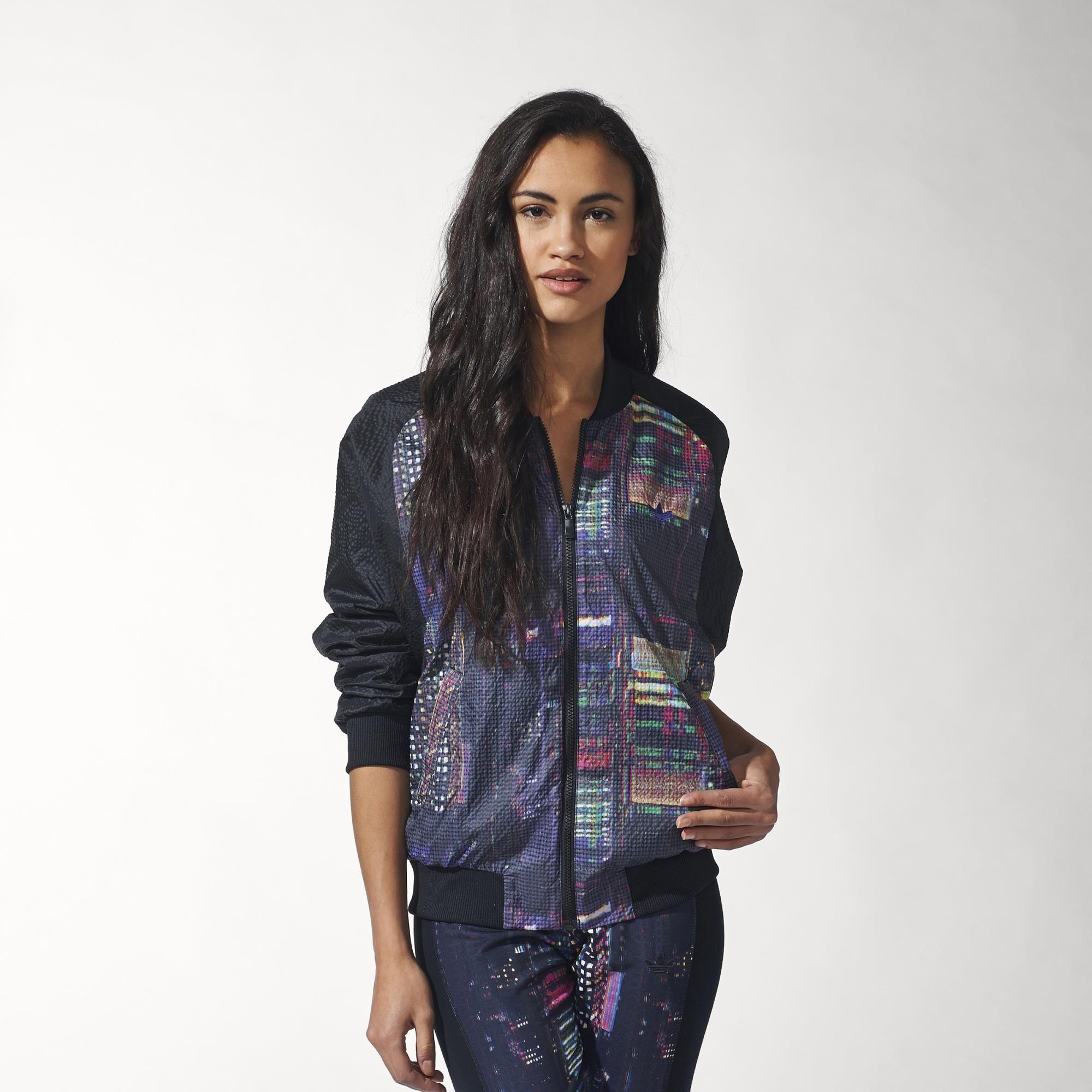 308907a4e114 adidas - Women s Tokyo Printed Superstar Track Jacket