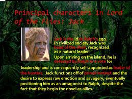 lord of the flies jack physical description