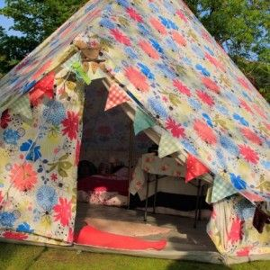 Boutique C&ing 5m Canvas Bell Tent u2013 Review & Boutique Camping 5m Canvas Bell Tent u2013 Review | crafts | Pinterest ...
