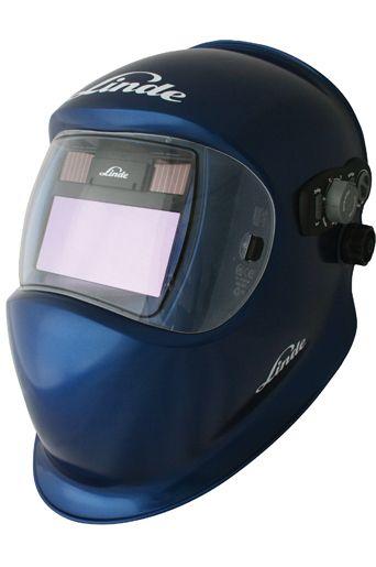 Linde Gladiator II Metallic Blue Welding Helmet