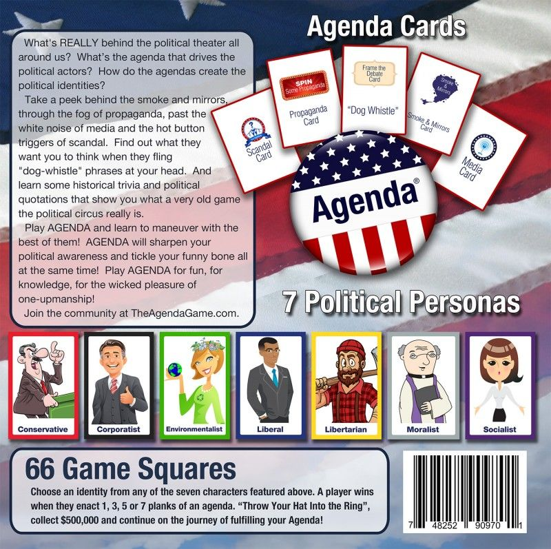 The Agenda Game {Holiday Gift Guide} Giveaway (US) 12/11