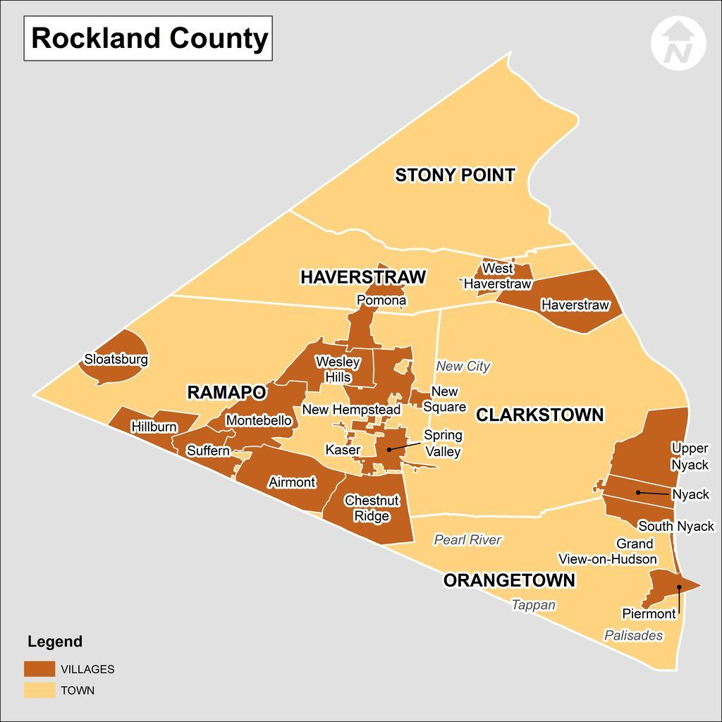 Rockland County New York Map – Upstate Ny County Map