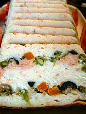 Terrine de poisson recette, aftouch-cuisine #terrinedesaumon