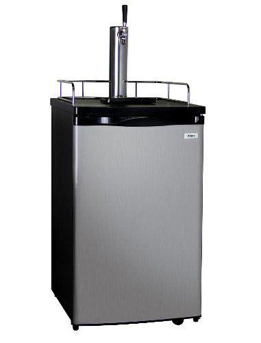 Kegco Single Tap Freestanding Beer Dispenser Click on