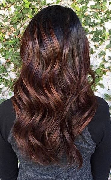 Roasted Coffee Bean Brunette Hair Ideas Hair Color