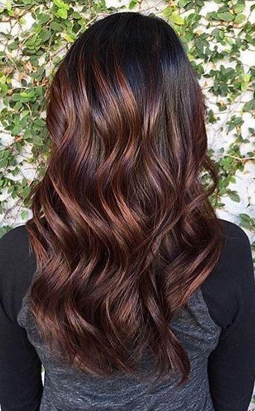 Roasted Coffee Bean Brunette Hair Ideas Hair Color