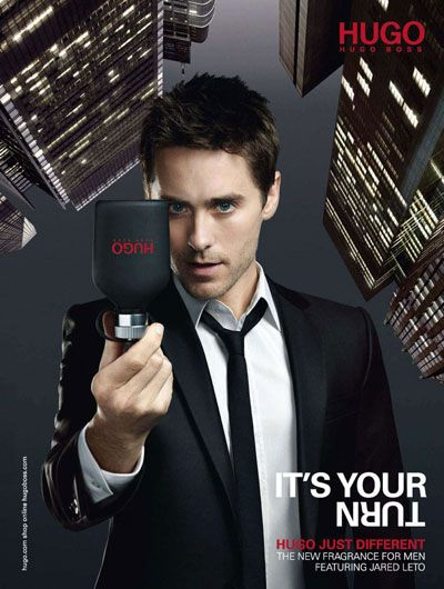 b2f56373 Jared Leto for Hugo Boss Just Different | Rock and roll | Jared leto ...