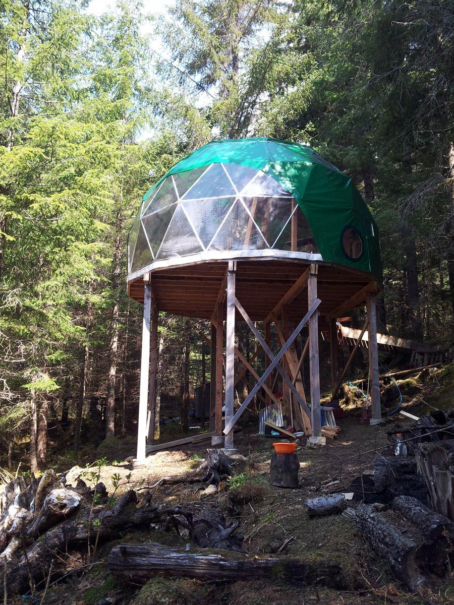 wilderness geodome houses in nature pinterest geod tische kuppel haus ideen und winterg rten. Black Bedroom Furniture Sets. Home Design Ideas