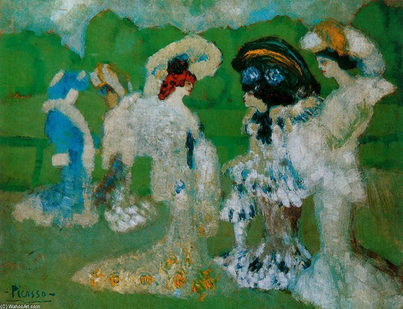 Pablo Picasso Influences From The Impressionism And The Symbolism