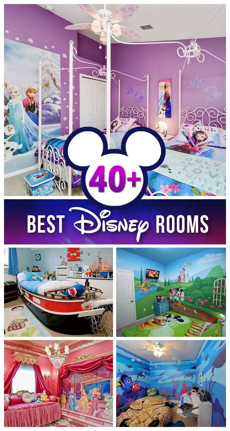 42 besten Disney Zimmer Ideen und Designs für 2018 | Disney rooms ...