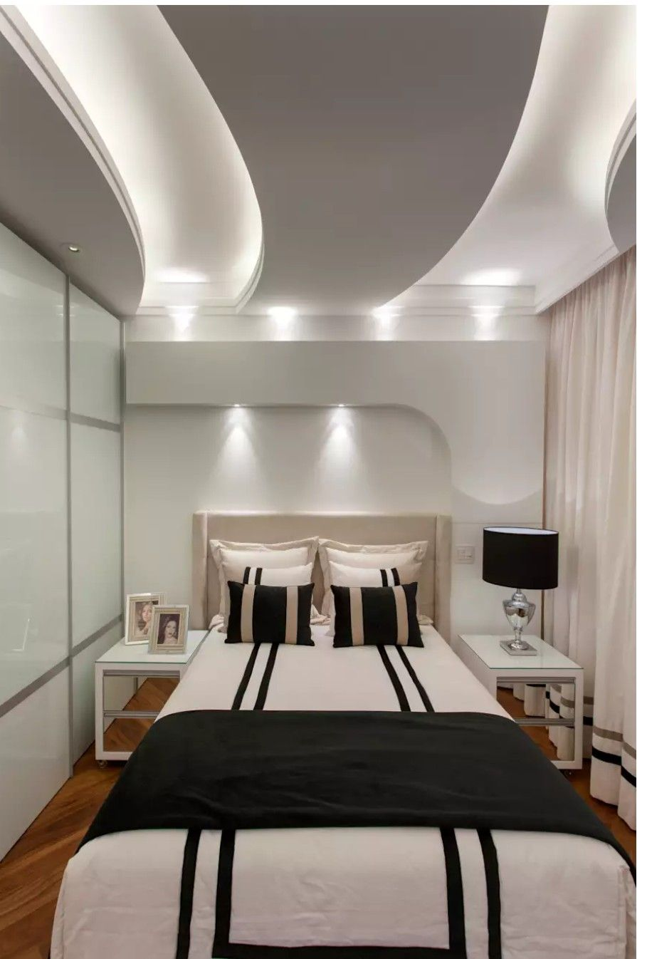 Small guestroom | False ceiling, Bedroom false ceiling ...