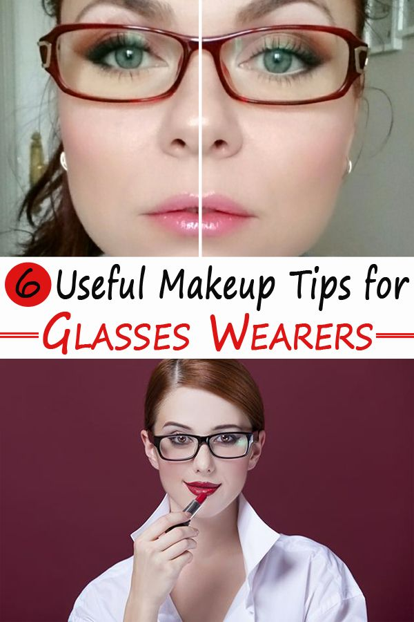 Do you wear glasses? You should keep in mind a few ...