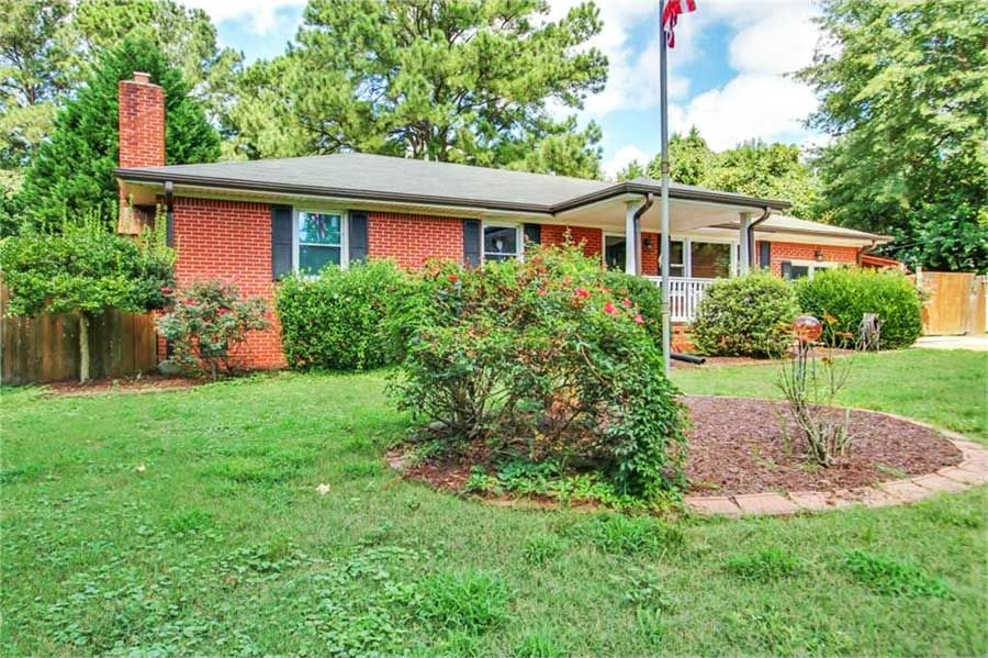 508 Hillwell Road Chesapeake VA 23322 All Brick Ranch In