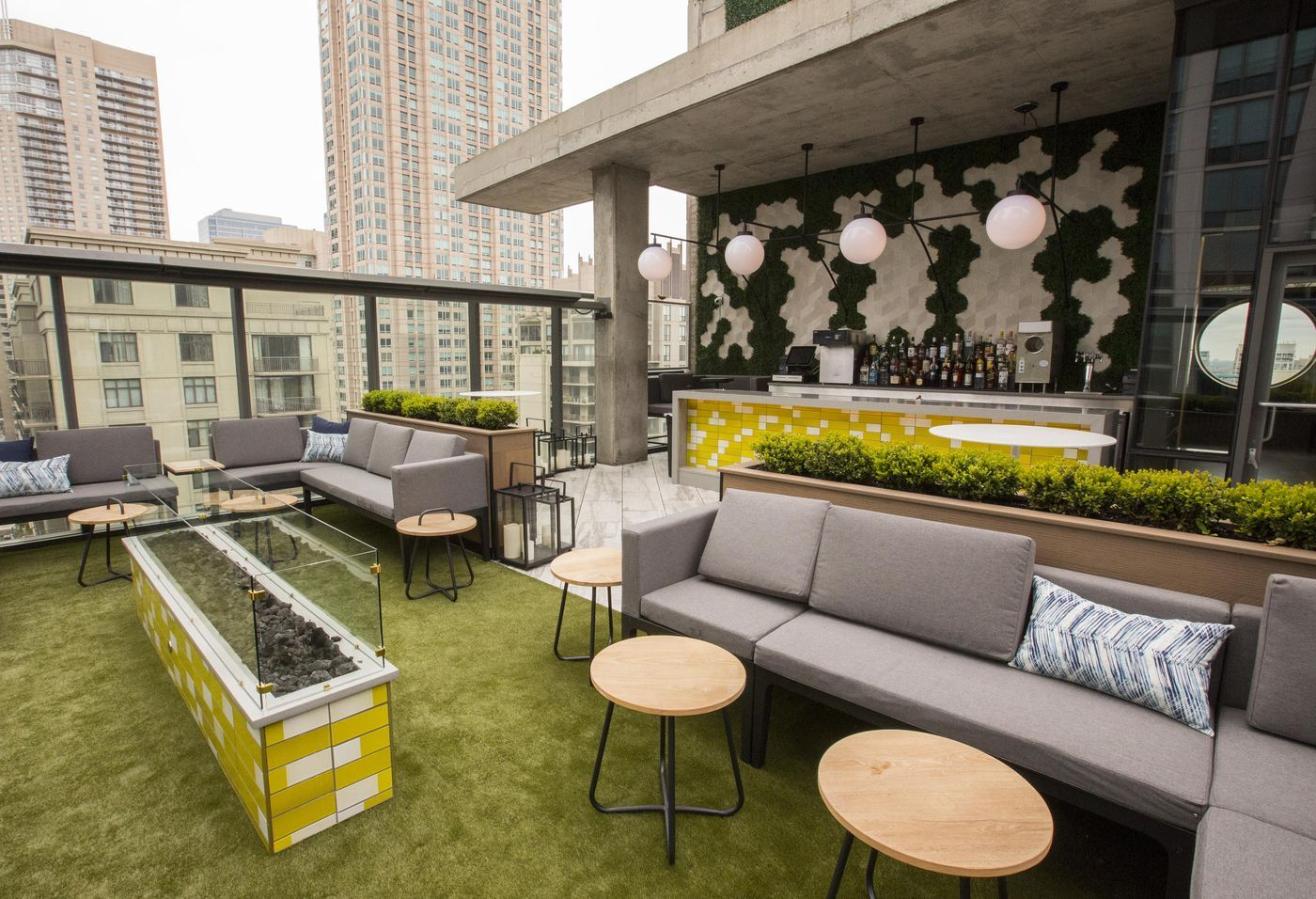Tour River North's Revamped Rooftop With $15K Bottles of ...
