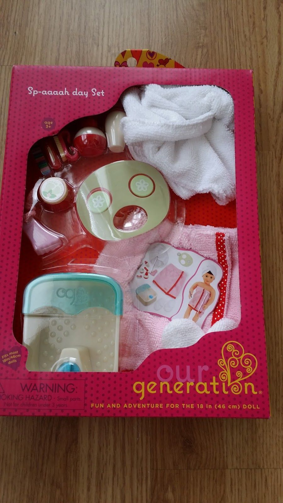 """Our Generation street Fair Accessory Set for 18/"""" Dolls fits American girl"""