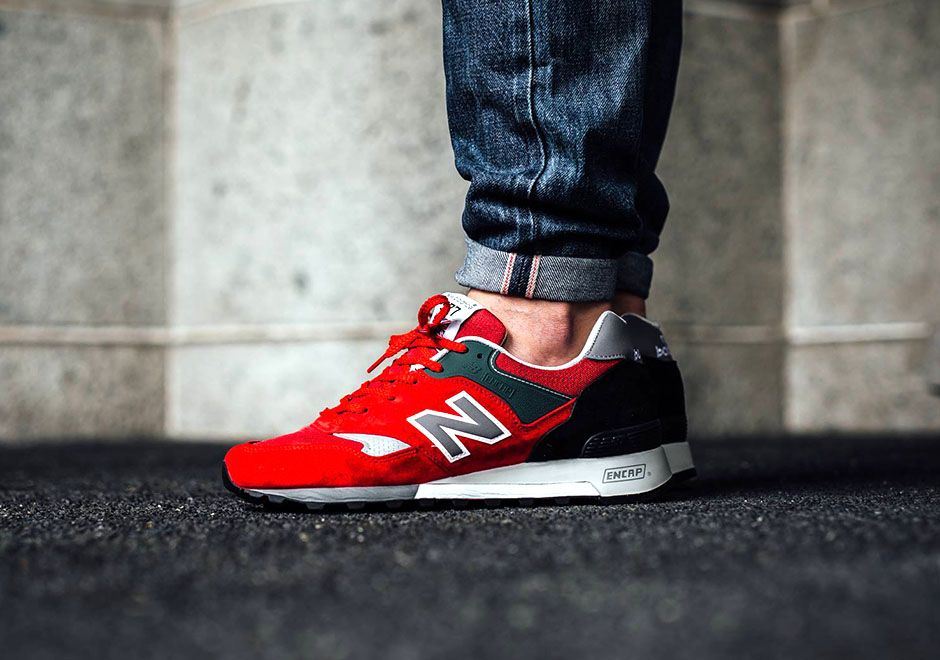 new-balance-577etr-made-in-england-red-black-1.jpg (940×660)   sneakers    Pinterest   Sneaker bar and Leather