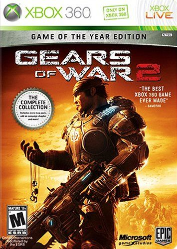 Amazon com: Gears of War 2 - Game of the Year Edition -Xbox 360