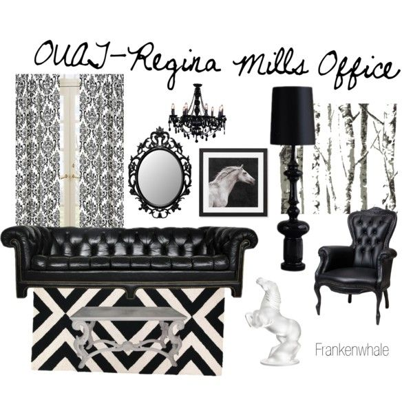 Lovely Once Upon A Time Home Decor Part - 7: OUAT-Regina Mills Office