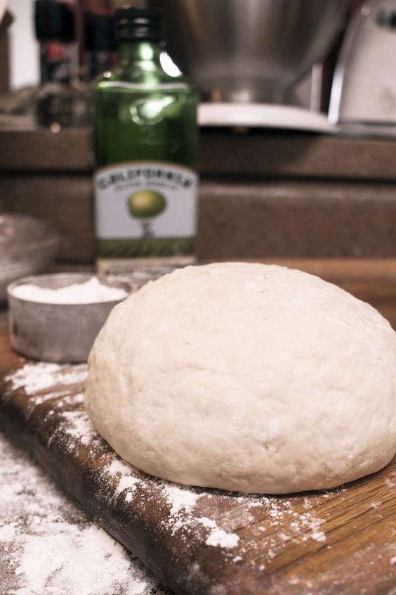 5 Minute Pizza Dough images