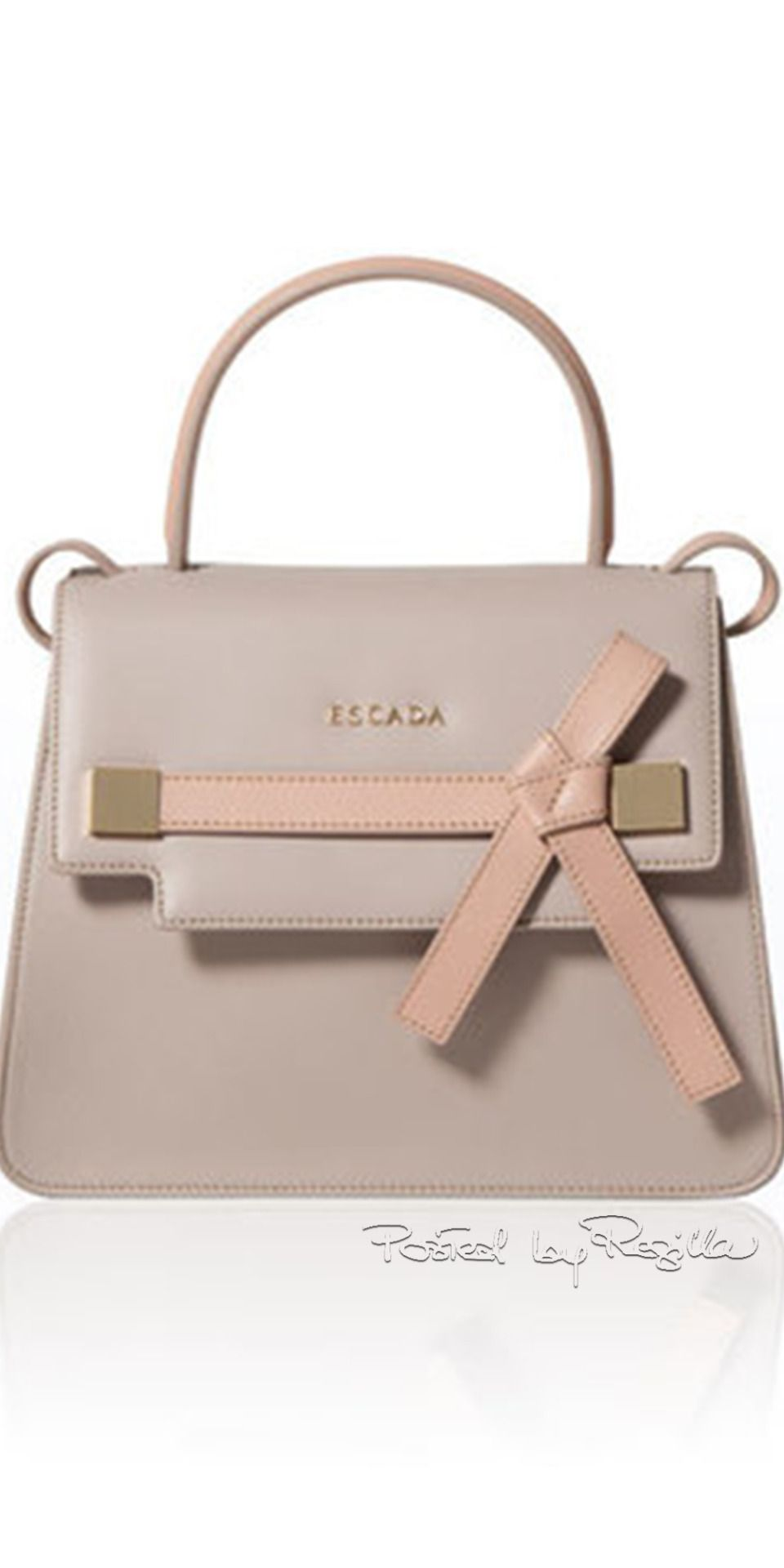 Escada Small Handbag I Am Not Into Bows But This One Is Rather Cute