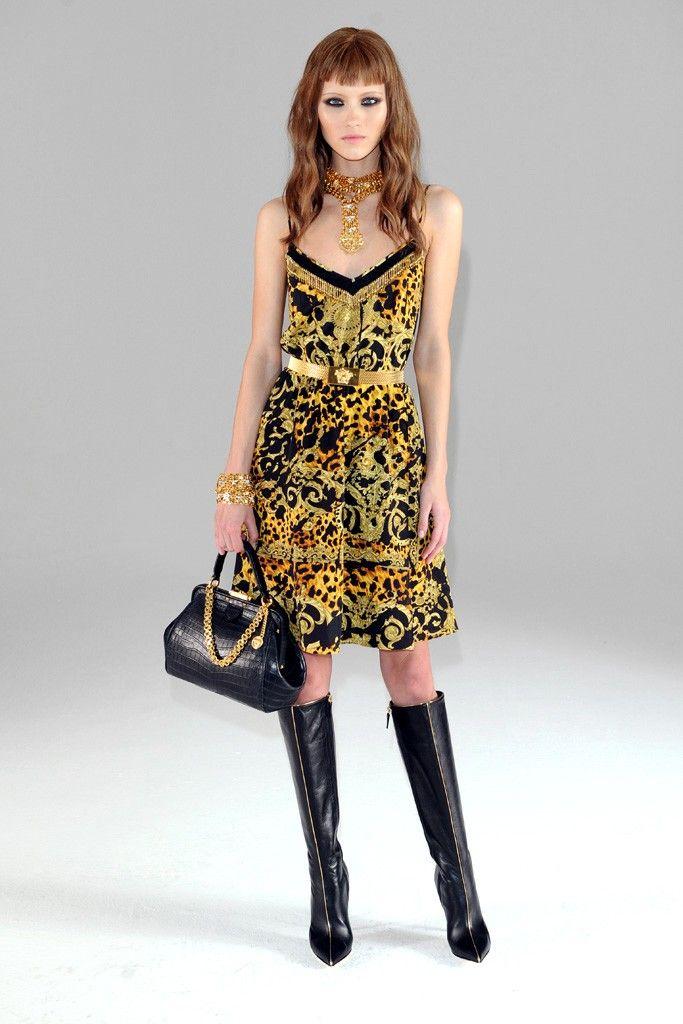 Versace Pre-Fall 2013 - Slideshow - Runway, Fashion Week, Reviews and Slideshows - WWD.com