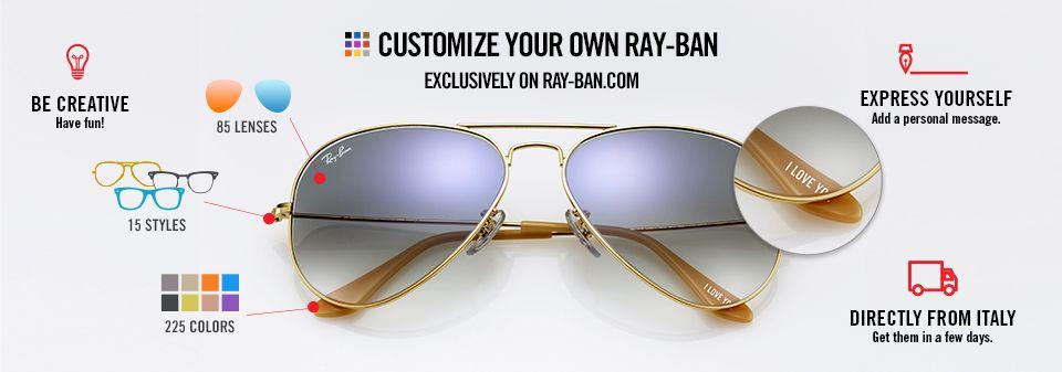 78b424b1f56 Custom Sunglasses Ray-Ban Remix Aviator