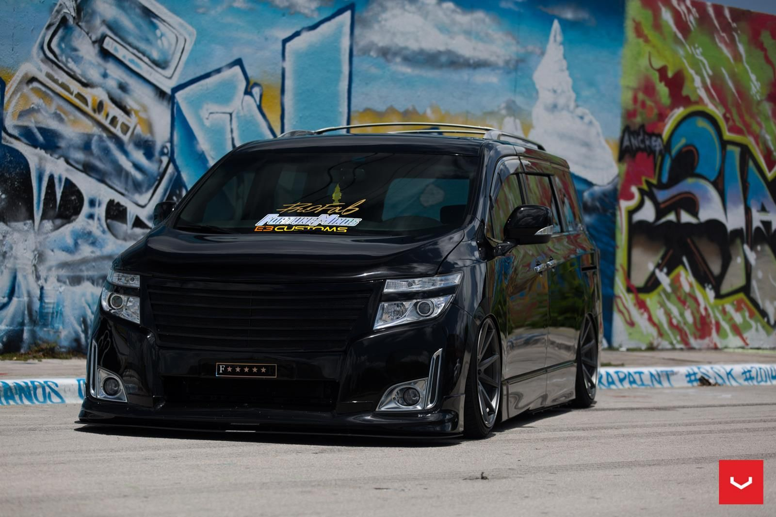 Bagged Nissan Quest On Vossen Wheels Could Start A New Trend Carscoops Nissan Quest Nissan Vossen