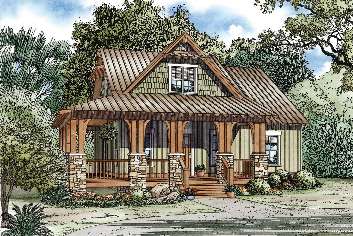 Small Craftsman Home Plan Exceptional New in Home Decorating Ideas