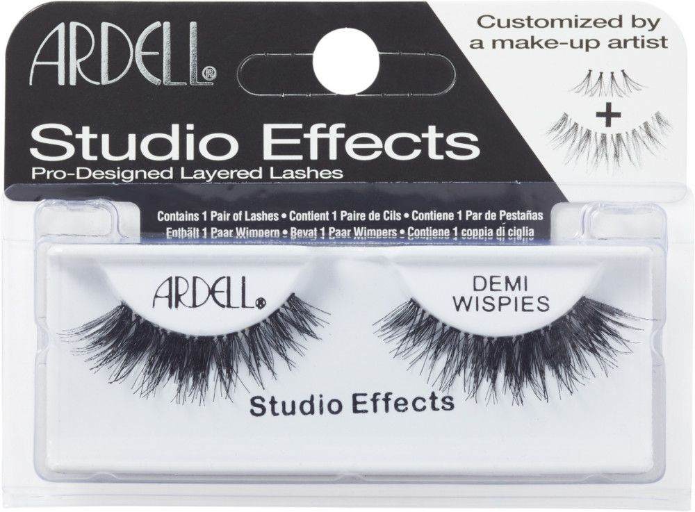 eb9d47253e3 Ardell's Studio Effects Demi Wispies has taken a makeup artist favorite and  lash wearer trick, stacking, and done the work for the wearer.