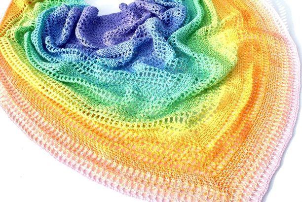 Free pattern Scheepjes Whirl Candy Shawl (jellina-creations - blog ...