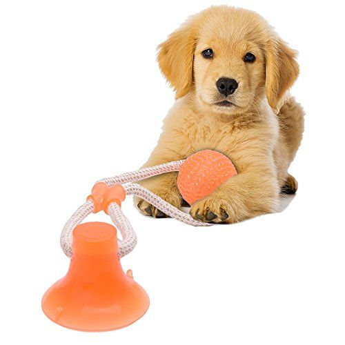 Wolfwill New Type Pet Chewing Toy Dog Selfentertain Ball W Strong