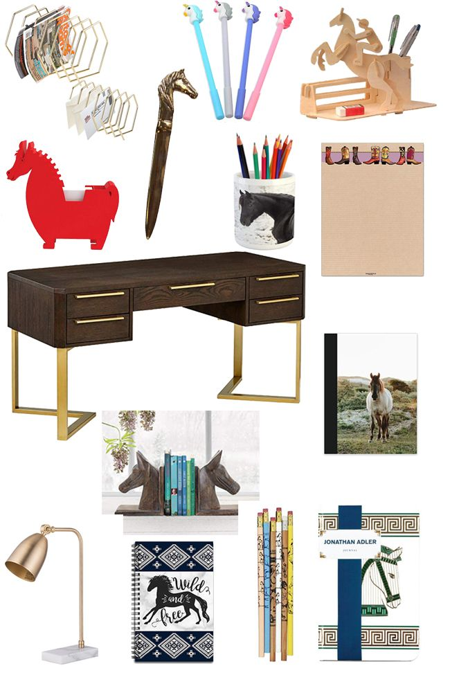 50 Office Supplies With The Equestrian In Mind Home Decor Pinterest Horse Es And Interiors