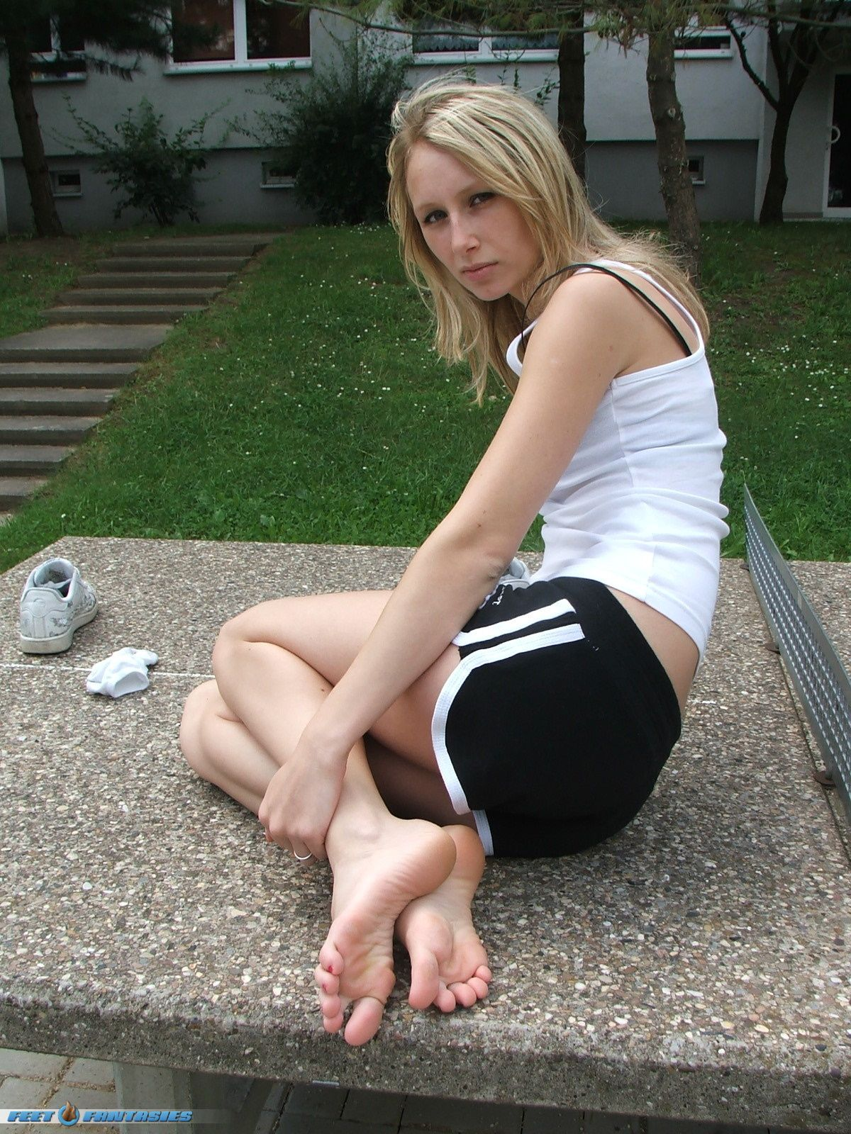 Sorry, not teen feet toes barefoot agree