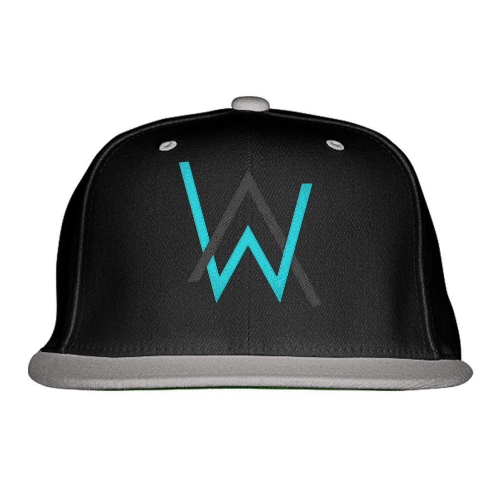 Alan Walker Embroidered Snapback Hat Sublimados 16208b669c7