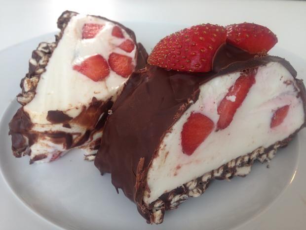 Riesen Yogurette Torte Ohne Backen Rezept Kuchen Pinterest